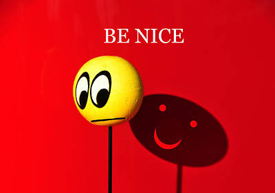 Photograph - Be Nice by David Lee Thompson
