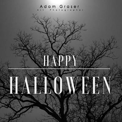 Photograph - Be Safe ! #halloween2015 #decor by Adam Graser