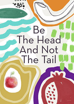 Mixed Media - Be The Head- Art By Linda Woods by Linda Woods