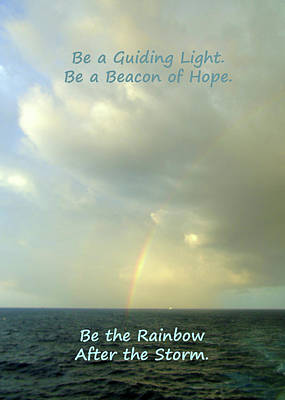 Photograph - Be The Rainbow by Susan Lafleur