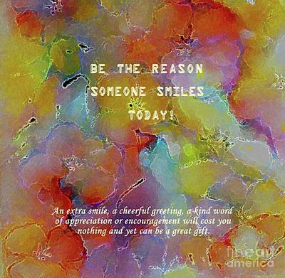 Painting - Be The Reason  by Hazel Holland