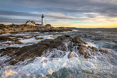 Maine Landscape Photograph - Be There by Benjamin Williamson