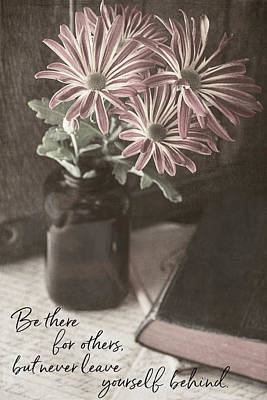 Photograph - Be There For Others by Teresa Wilson