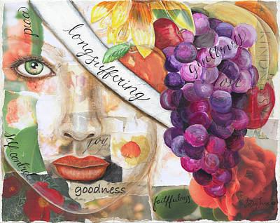 Painting - Be Ye Fruitful by JoDee Luna