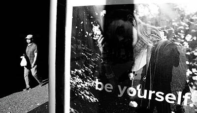 Photograph - Be You by The Artist Project