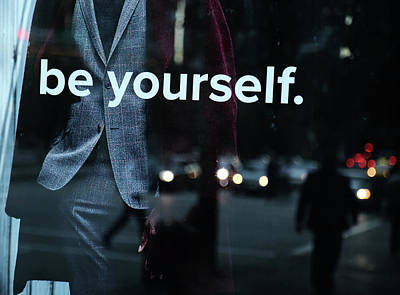 Photograph - Be Yourself Again  by The Artist Project