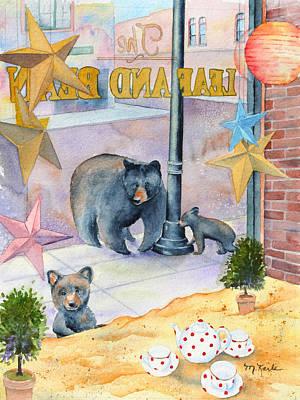 Painting - Bean Bears by Marsha Karle