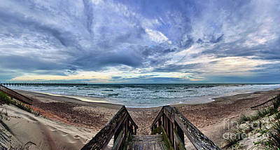 Photograph - Beach Access by DJA Images