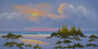 Painting - Beach Access by Kenneth F Aunchman