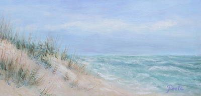 Painting - Beach Access One At Shell Island by Pamela Poole