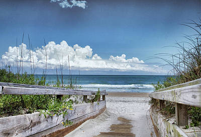 Photograph - Beach Access by Phil Mancuso
