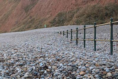 Beach After The Storm Art Print