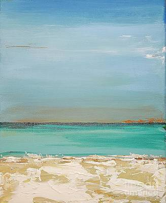 Painting - Beach Afternoon by Diana Bursztein