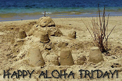 Photograph - Beach Aloha Friday by Pamela Walton