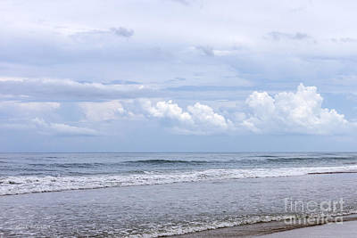 Photograph - Beach And Clouds by Todd Blanchard