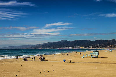 Photograph - Beach And Mountains by Robert Hebert