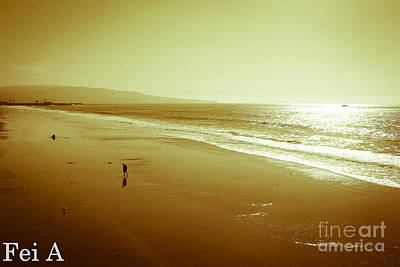 Photograph - Golden Time by Fei A