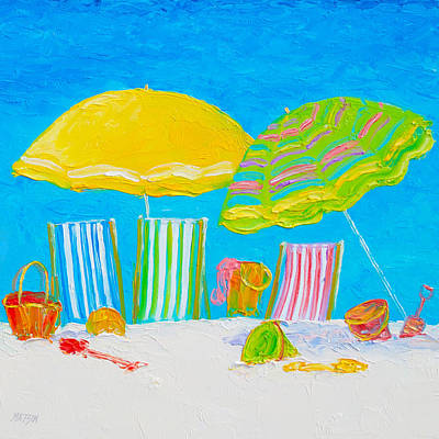 Beach Art - Beach Color Art Print