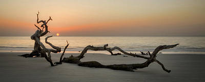 Jekyll Island Photograph - Beach Art Cropped by Greg Mimbs
