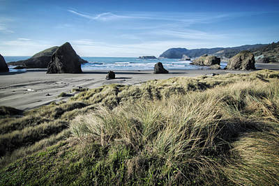 Photograph - Beach At Bandon by Bonnie Bruno