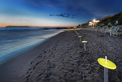 Photograph - Beach At Sunset - Spiaggia Al Tramonto II by Enrico Pelos