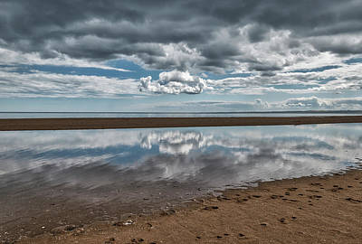 Photograph - Beach At Tentsmuir Point In Scotland by Jeremy Lavender Photography