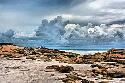 Photograph - Beach At Washington Oaks by Ben Prepelka