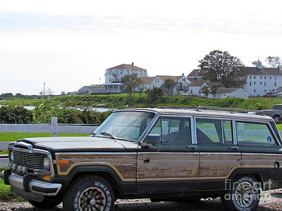 Photograph - Beach Baby Wagoneer by Beth Saffer
