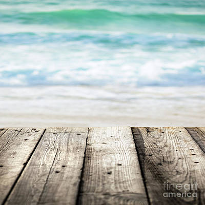 Photograph - Beach Background by Anna Om