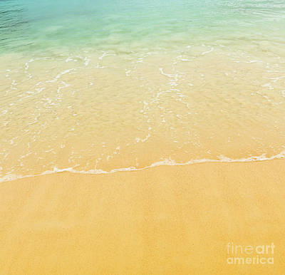 Photograph - Beach Background by Tim Hester