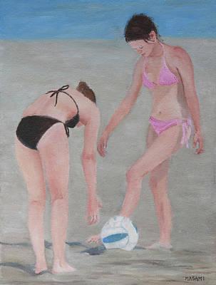 Painting - Beach Ball by Masami Iida