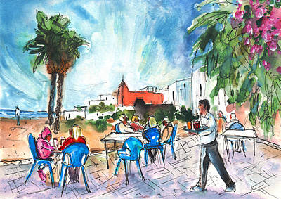 Painting - Beach Bar In San Jose by Miki De Goodaboom