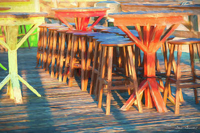 Photograph - Beach Bar Morning by Glenn Gemmell