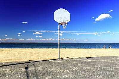Photograph - Beach Basketball At Long Beach Island by John Rizzuto