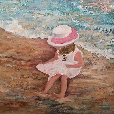 Painting - Beach Beauty by Annie St Martin