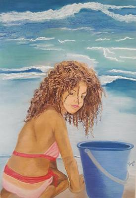 Painting - Beach Beauty by Phyllis Anne Taylor Pannet Art Studio