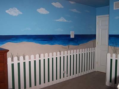 Painting - Beach Bedroom 4 by Anna Villarreal Garbis