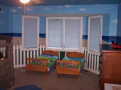 Painting - Beach Bedroom II by Anna Villarreal Garbis