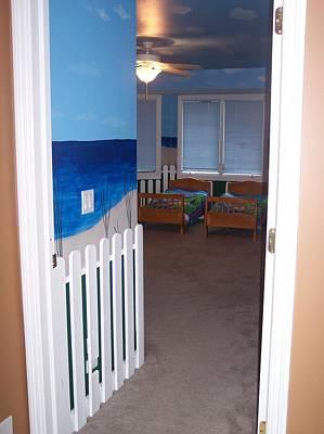 Painting - Beach Bedroom IIi by Anna Villarreal Garbis