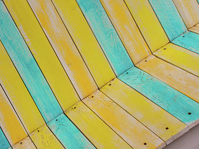 Photograph - Beach Bench by Elvira Butler