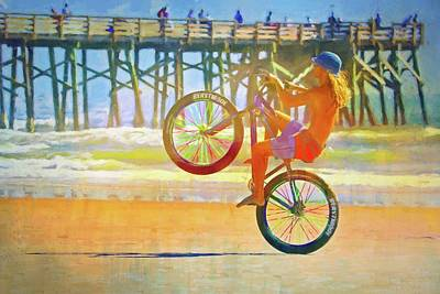 Photograph - Beach Bike High by Alice Gipson