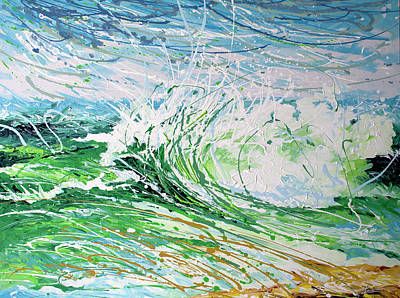 Painting - Beach Blast by William Love