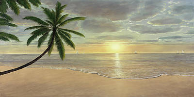 Painting - Beach Bliss by Diane Romanello