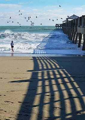 Flocks Of Birds Photograph - Beach Bliss by Laura Fasulo