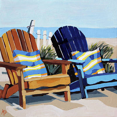 Painting - Beach Blues by Melinda Patrick