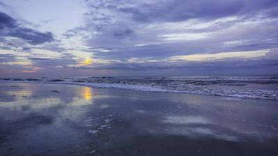 Photograph - Beach Blues by Paula Porterfield-Izzo