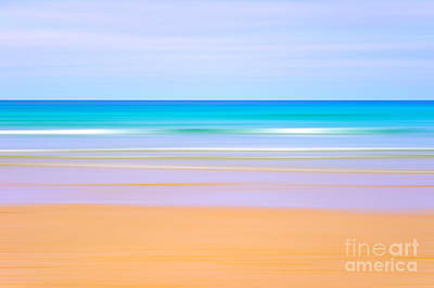 Abstract Movement Photograph - Beach Blur by Richard Thomas