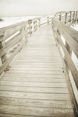 Photograph - Beach Boardwalk by Debra Fedchin