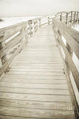 Photograph - Beach Boardwalk by Debra Fedchin