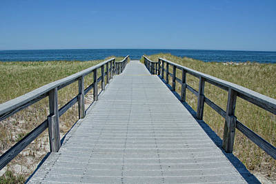 Photograph - Beach Boardwalk by Donna Doherty